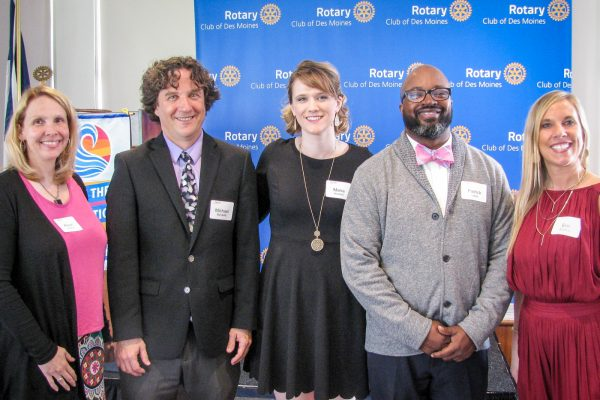 Congratulations, Erin Budreau – Rotary Club Educator of the Year!
